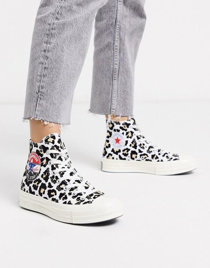 Leopard Print Converse | Shop the world