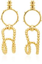 Paula Mendoza STBC Bubble 24K Gold-Plated Earrings