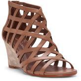 Donald J Pliner Women's JORDAN - Burnished Calf Leather Wedge Sandal
