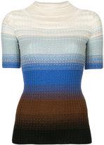 Missoni degradé knitted top