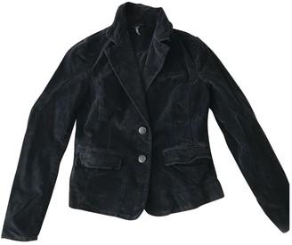 Free People Black Velvet Jacket for Women
