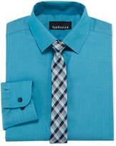 Van Heusen Shirt + Tie Set Boys 8-20