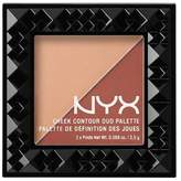 NYX (6 Pack Cheek Contour Duo Palette 06 Ginger & Pepper