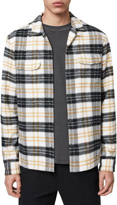 AllSaints Lenado Plaid Button-Up Flannel Shirt