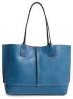 Frye Adeline Leather Tote - Blue