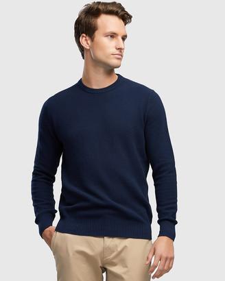 Wayver Cotton Textured Crew Knit