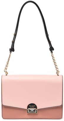 Kate Spade Neve Leather Two Tone Medium Shoulder Bag
