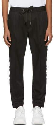 Dolce & Gabbana Black Drawstring Trousers