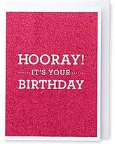 Martha Stewart MarthaCelebrationsTM Birthday Card – Hooray