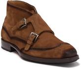 Mezlan Munoz Double Monk Strap Leather Boot