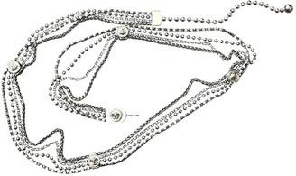 Versace Silver Chain Belts
