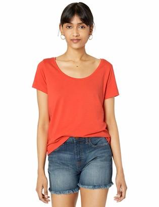 The Drop Women's Emily Short-Sleeve Scoop Neck Drapey T-Shirt