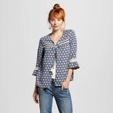 Women's Tie-Front Printed Jacket - Xhilaration (Juniors')