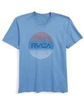 RVCA Boy's Motors Lined T-Shirt