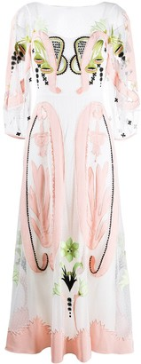 Temperley London Florette embroidered dress