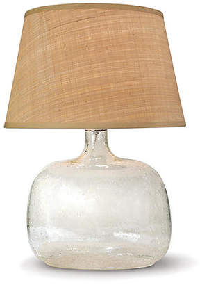 REGINA ANDREW Seeded Oval Table Lamp - Glass