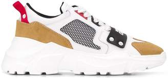 Versace chunky sole sneakers