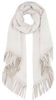 Loro Piana Semicircle Summer cashmere and silk scarf