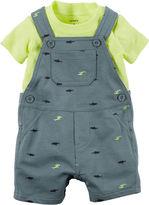 Carter's 2-pc. Shortalls and Short-Sleeve Shirt Set - Baby Boys newborn-24m