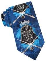 Star Wars Darth Vader Stencil Tie
