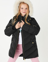Marks and Spencer Stormwear Padded Fleece Lined Coat (3-16 Years)
