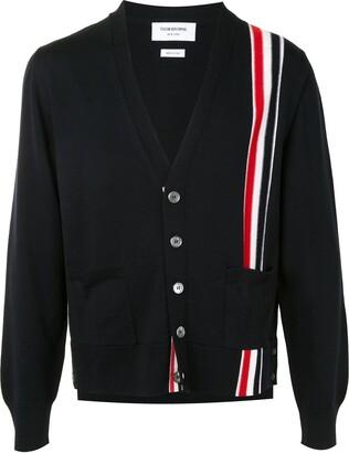 Thom Browne RWB stripe cardigan