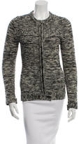 Etoile Isabel Marant Patterned Zip-Up Sweater