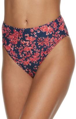 WeWoreWhat Women's Emily High-Waist Bikini Bottoms