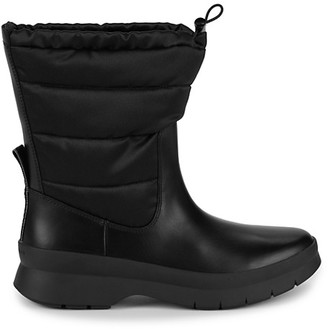 Cole Haan Pinch Utility Leather Puffer Boots