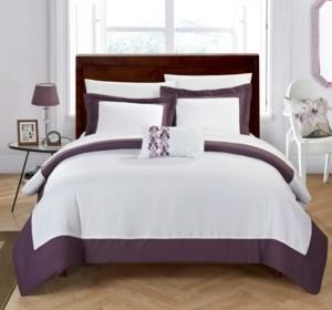 Chic Home Wynn 4 Pc Queen Duvet Cover Set Bedding