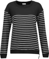 Splendid Adelaide striped cotton-blend sweater