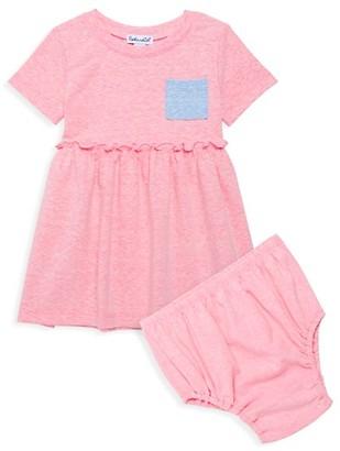 Splendid Baby Girl's 2-Piece Colorblock Dress Bloomer Set