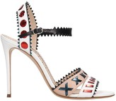 Casadei Sandals In White Leather