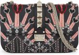 Valentino Medium leather embellished heart cross-body bag