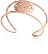 Rebecca Melrose Rose Gold Over Bronze Cuff Bracelet