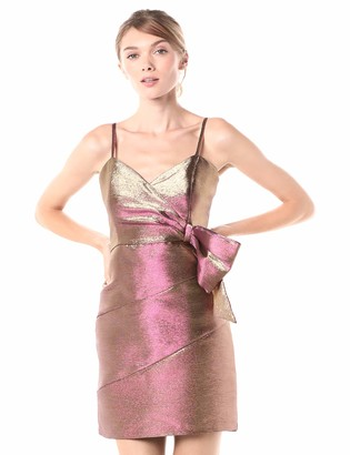 Parker Women's Rita Sleeveless Drape Front Cocktail Dress