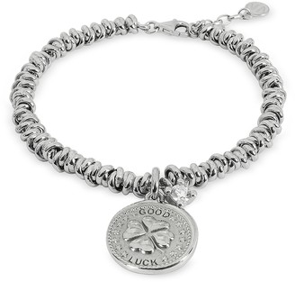 Nomination Sterling Silver Good Luck Charm Bracelet