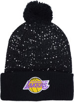'47 Women's Los Angeles Lakers Hardwood Classics Glint Knit Hat