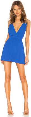 superdown Sharona Pleated Mini Dress