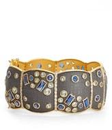 Freida Rothman Women's Modern Mosaic Moschata Bracelet