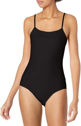 Cynthia Rowley Women's Low Scoop Maillot One Piece Swimsuit