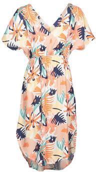 Roxy FLAMINGO SHADES women's Long Dress in Multicolour