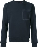 Woolrich zipped chest pocket sweatshirt - men - Cotton/Polyester - M