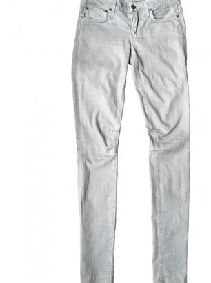 Helmut Lang Grey Cotton - elasthane Jeans