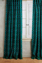 Anthropologie Concave Diamonds Curtain