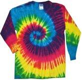 Gildan Tie Dye T-shirts Neon Reactive Long Sleeve Kids & Adult Size