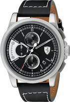 Ferrari Men's 0830275 Formula ITALIA S Analog Display Japanese Quartz Watch