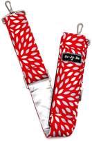 Ju-Ju-Be Messenger Strap Diaper Bags, Scarlet Petals