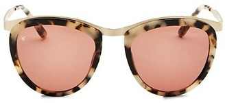 Smoke X Mirrors Comic Strip 51MM Teardrop Sunglasses
