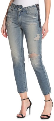 AG Jeans Isabelle Side Zip Jeans
